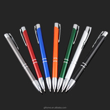 Promotional metal aluminum ball pen B1031 for wholesale