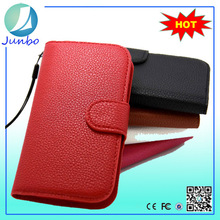 Wholesale leather mobile phone accessories case for samsung galaxy s3