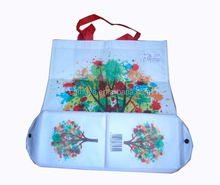 new products laminated nonwoven foldable bag