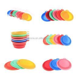 Alibaba china hot selling top quality silicone collapsing pet bowl