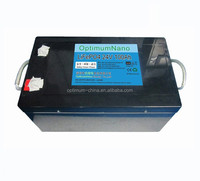 Rechargeable 24V 100Ah solar energy storage battery