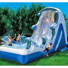 hippo water slide , ZY-WS573 toboggan water slide