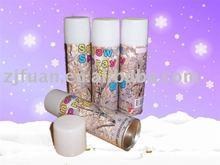 Party popper-snow spray