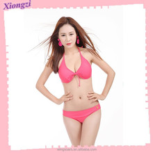 2015 female chest be small chest together conservative sexy bikini skirt type new hot spring bathing suit