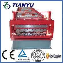 China alibaba double layer roll forming machine prices