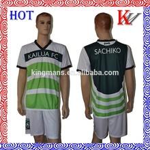 equipo de fútbol uniforme de ventas al por mayor del oem camiseta de fútbol