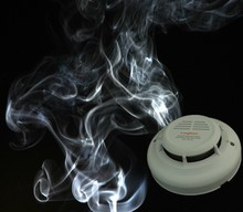 Intelligent Digital Wired Photoeletric Smoke Monitor of security system
