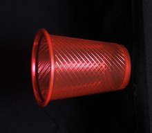 Not easy to deformation red hot water or coffee PP plastic cups