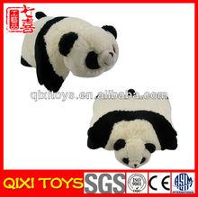Wholesale soft plush panda cushion plush animal shaped cushion