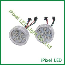 magic 9leds led pixel point light 45mm for amusement rides