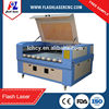 Automatic leather/fabric laser cutting machine with double heads, looking for agents