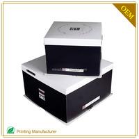 Cheap Cake Box Cardboard Box Custom Design Logo Printing