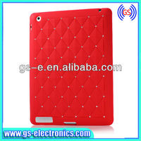 2013 New Design colorful silicone case for ipad 2 3 4