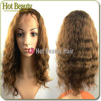 Ample supply and prompt delivery blonde human hair lace front wigs