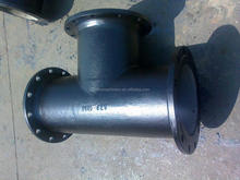 DI Double socket tees with flanged branch pipes Manufacturers made in China