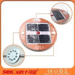 2016 Seksun slim fridge mini magnet long cycle life round cheap solar light