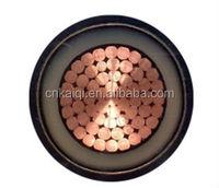 XLPE Insulated Power Cable 1kv, 3.6kv, 6kv 11kv, 15kv 24kv, 33kv Aluminum/Copper Power Cable