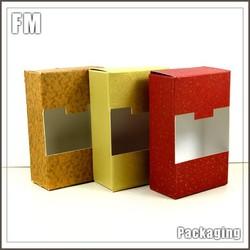 Eco friendly Recycled pencil box Kraft Paper Box