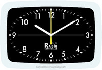 Metal Square time wall clock for office decor