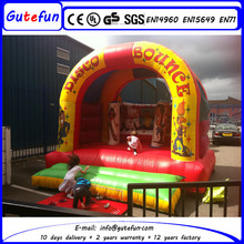 church events indoor inflatable basketball game