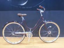 red city bike retro city bike china lugged frame city bike for Europe