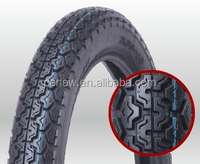 China Top Quality EMARK/SONCAP/DOT Motorcycle Tyre and Tube, Motorcycle Tire 300-18