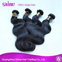 Popular style classic body wave cheap remy human hair weaving