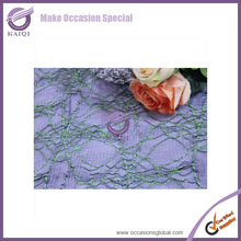 #16223 decorative table runner round tables
