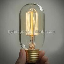 Manufacturer vintage antique edison bulb decorative filament light bulb 110-240v industrial bare bulb