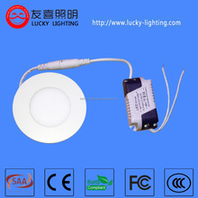 high quality small round 4w led panel lighting