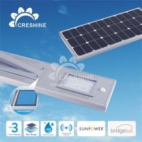 2015 New 12V Light Dimmer Timer Flexible Solar Panel Integrated Solar Street Light