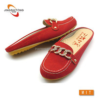 Hotsale in USA lady shoe,Wholesale loafer design fashion shoes,lady moccasins middle aged women shoes