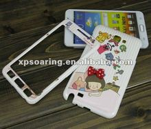 happy hard case faceplate cover for Samsung galaxy Note i9220