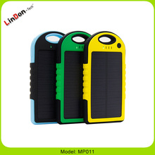 5000mAh Portable Solar Charger Power Bank Mini Solar Power Bank Solar Energy Power Bank
