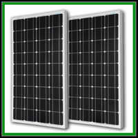 Manufacturer Mono crystalline silicon black 12V 100w 200w 250w 300w PV easy mounting Solar panel cheap price from China
