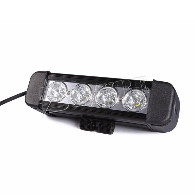 슈퍼 밝기 LED offroad 빛 바 40w LED 높은 베이 라이트 ATV 모터 자전거 ...