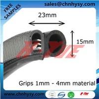 HongYue waterproof extrusion rubber edge guard for bonnet