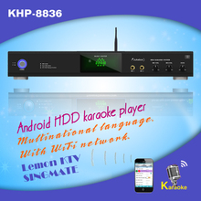 30000 Vietnamese & English Live songs include 4TB HDD +Android HD karaoke machine with HDMI 1080P ,air KTV, build in Mic Echo