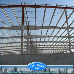 Top Build Brand steel structure fabricated building with sandwich panels for roof and wall