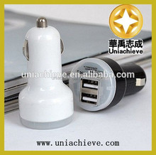 High quanlity! Dual USB 2 Port DC Car Charger 2.1A Adapter