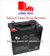 12volt rechargeable UPS Solar Powered Systems lead acid battery