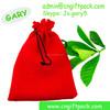 red velvet christmas gift bag wholesale
