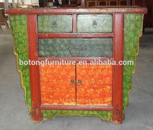 muebles antiguos pintados lwb605 del gabinete