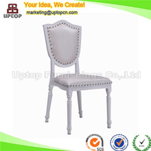 (SP-AF065) Wholesale elegant white wedding hall chairs