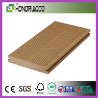 2015 HONORWOOD DECK / Waterproof Solid Cheap Price Wood Plastic Composite WPC Decking Board