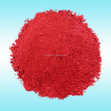 Iron oxide red pigment for paint