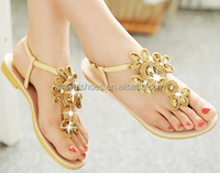 Ladies flat sandals for girls latest woman sandal for 2014