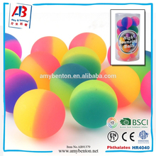Wholesale Promotional solid rubber jumping balls bounce ball