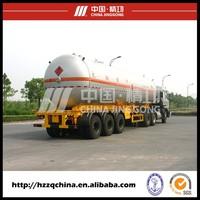58300L (C3H8) Liquefied Petroleum Gas Tank Semi Trailer