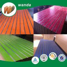 aluminum slat wall / aluminum mdf / aluminum t board
